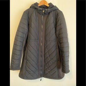 Jackets & Blazers - A:Glow Black Maternity Coat (L)